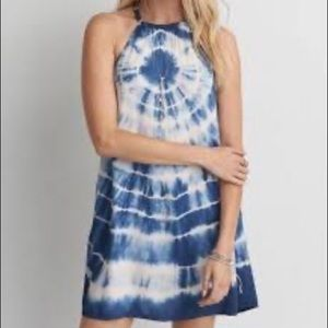 American Eagle Outfitters Tie Dye Braided Dress